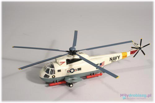 Model Plastikowy Do Sklejania Linberg (USA) - Śmigłowiec Helikopter SH-3 Sea King
