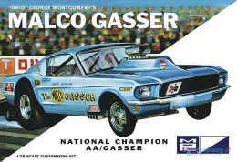 Model plastikowy - Samochód Ohio George Malco Gasser 67 Mustang (Legends of 1/4 Mile) (Light Blue) - MPC