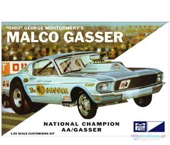Model plastikowy - Samochód Ohio George Malco Gasser 67 Mustang (Legends of 1/4 Mile) - MPC
