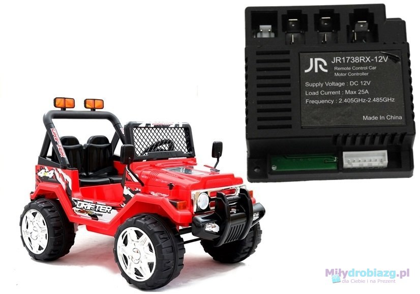 Moduł Centralka JR1738RX 12V do auta Jeep Raptor