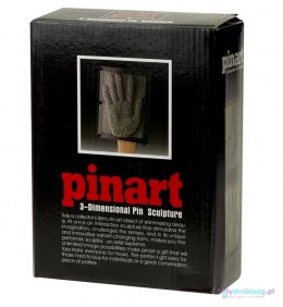 Tablica szpilkowa Pin Art. 3d srebrna XXL