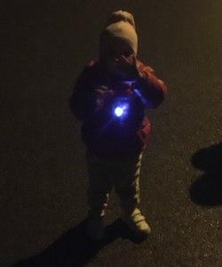 Natasza i zawieszka LED